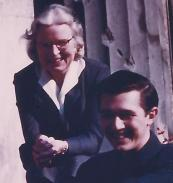 Detmold, Germany, in 1958 -- Irmgard Lechner and Willis Bodine